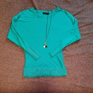 The Limited Bright Blue Sweater